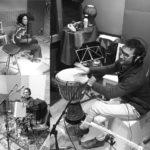 2018'II. Madrid. Grabando el disco en Infinity Estudios, sesión con Manuel Alcaraz.
